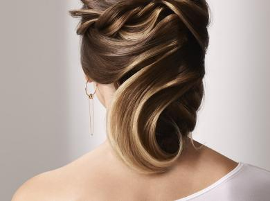 Couture updo