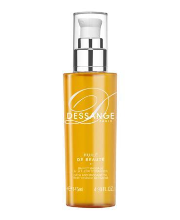 Bath and Massage  oil with  Orange Blossom